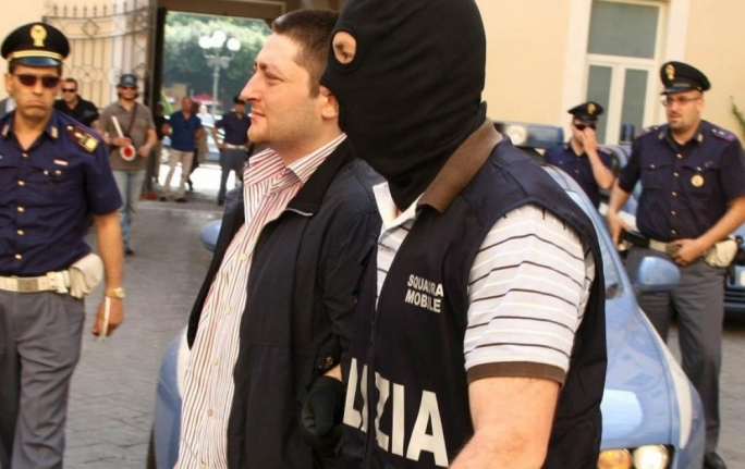 Arrested: Camorra boss Nicola Schiavone in 2010
